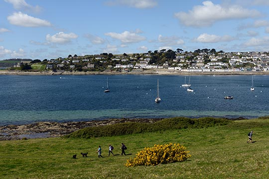 South West Coastal Path - St Mawes